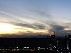 夕景〜20080117