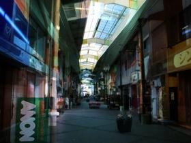 シャッター街の昼と夜〜20130224-0226